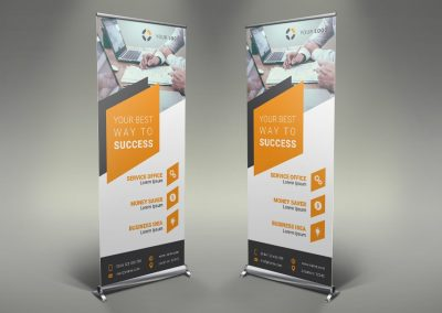 001 - Businss Roll Up Banner