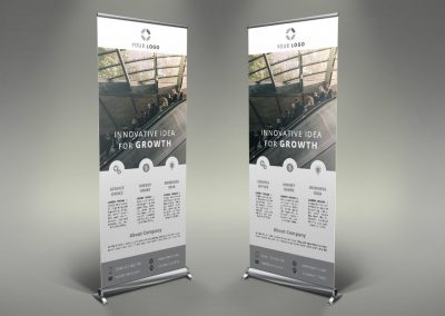 002 - Businss Roll Up Banner