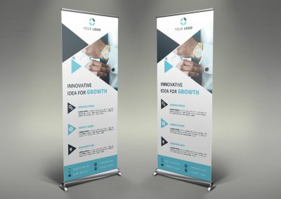 004 - Businss Roll Up Banner