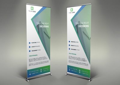 008 - Corporate Roll Up Banner