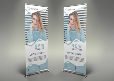 014 - Women's Clothing Roll Up Banner