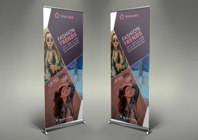 015 - Women's Clothing Roll Up Banner
