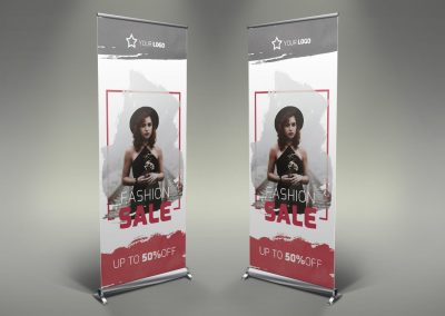 016 - Women's Clothing Roll Up Banner