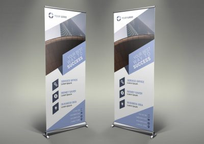 037 - Business Roll Up Banner