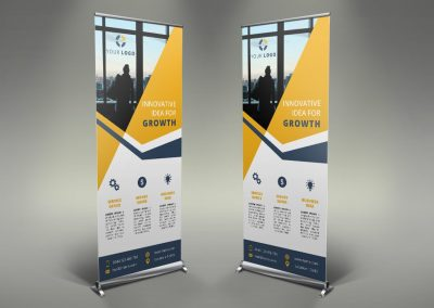 038 - Business Roll Up Banner