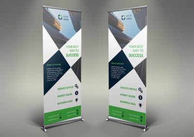 039 - Business Roll Up Banner