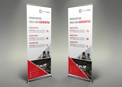 040 - Business Roll Up Banner