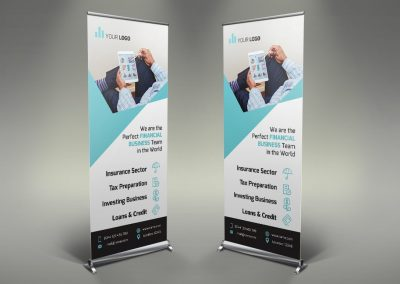 041 - Financial Roll Up Banner