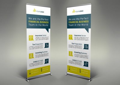 043 - Financial Roll Up Banner