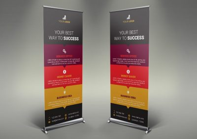 054 - Business Roll Up Banner