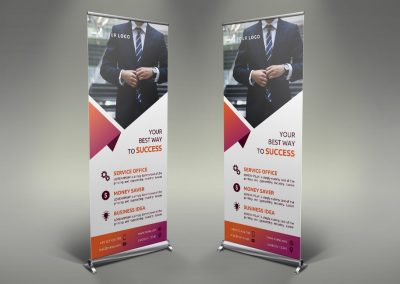 055 - Business Roll Up Banner