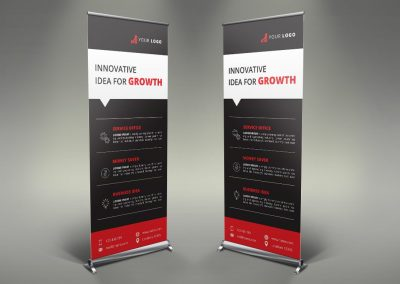 056 - Business Roll Up Banner