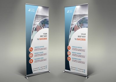 057 - Business Roll Up Banner