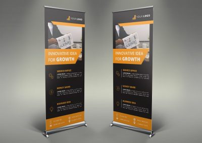 058 - Business Roll Up Banner