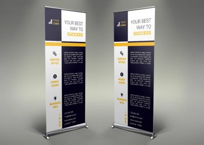 059 - Business Roll Up Banner