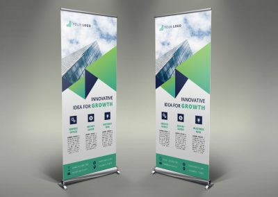 060 - Business Roll Up Banner