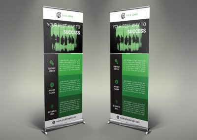 066 - Business Roll Up Banner
