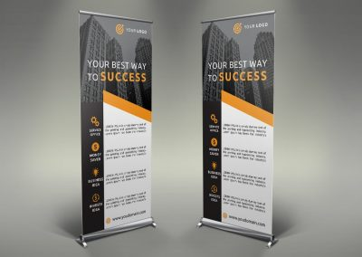 068 - Business Roll Up Banner