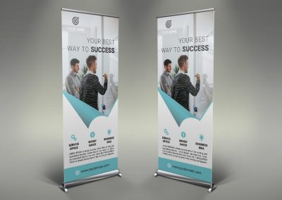 069 - Business Roll Up Banner