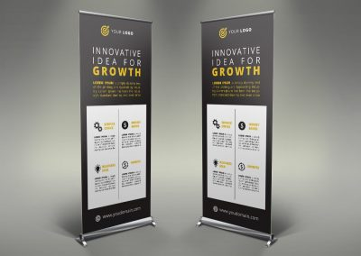 070 - Business Roll Up Banner
