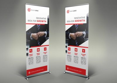 071 - Business Roll Up Banner