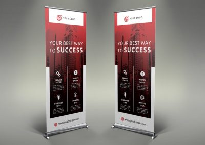 072 - Business Roll Up Banner