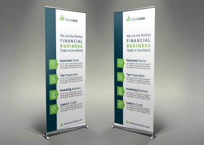 073 - Finance Roll Up Banner