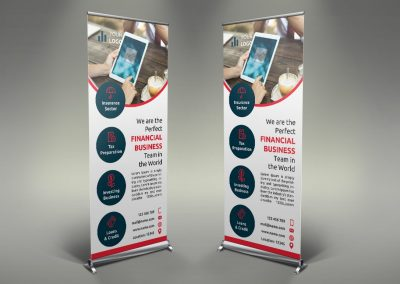 074 - Finance Roll Up Banner