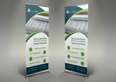 075 - Finance Roll Up Banner