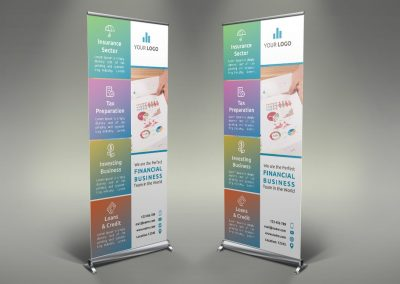 076 - Finance Roll Up Banner