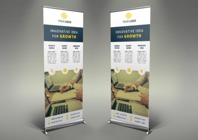 077 - Business Roll Up Banner