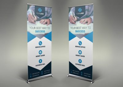 078 - Business Roll Up Banner