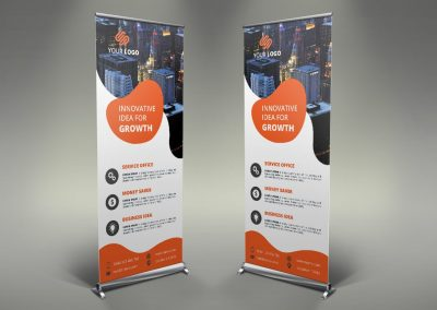 079 - Business Roll Up Banner
