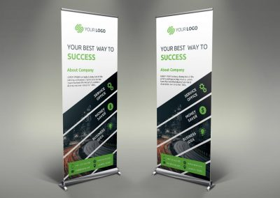 080 - Business Roll Up Banner