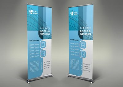 081 - Doors & Windows Roll Up Banner