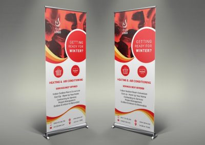 086 - Doors & Windows Roll Up Banner
