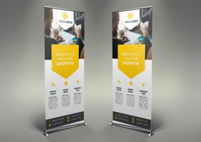 089 - Business Roll Up Banner