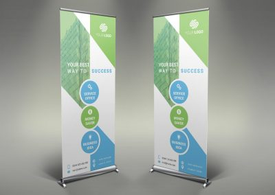 090 - Business Roll Up Banner