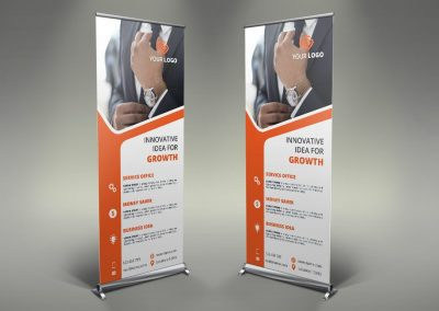 091 - Business Roll Up Banner