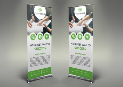 092 - Doors & Windows Roll Up Banner