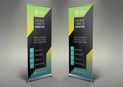 095 - Creative Company Roll Up Banner