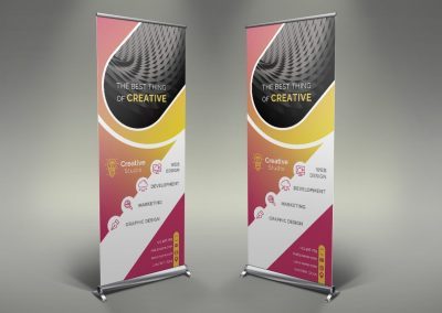 096 - Creative Company Roll Up Banner