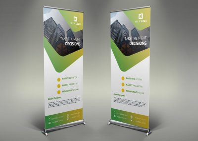 097 - Corporate Roll Up Banner