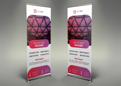 099 - Corporate Roll Up Banner