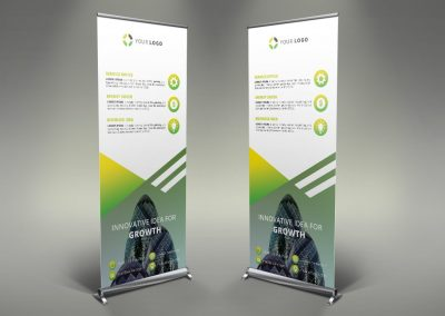 101 - Business Roll Up Banner