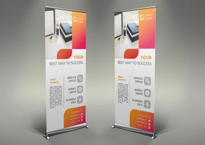 102 - Business Roll Up Banner