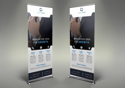 103 - Business Roll Up Banner