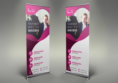 104 - Business Roll Up Banner