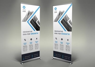 110 - Business Roll Up Banner